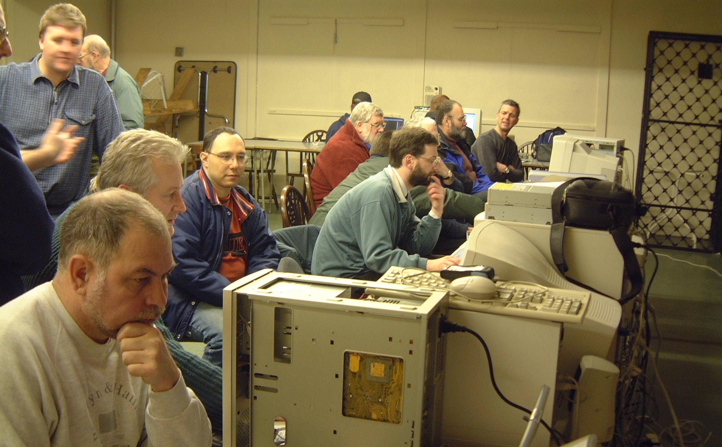 Club Meeting February 2003